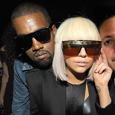 Kanye and Gaga