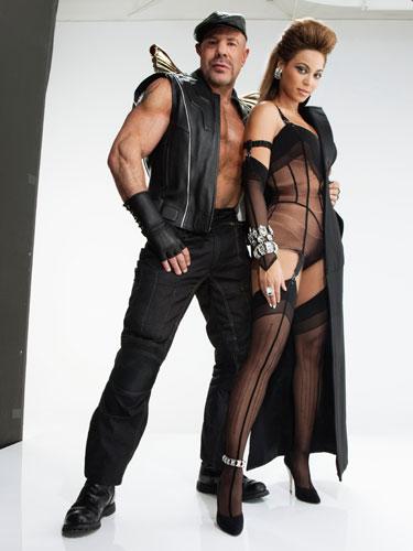 Beyonce and Mugler